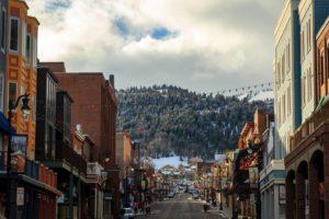 Utah during a winter morning