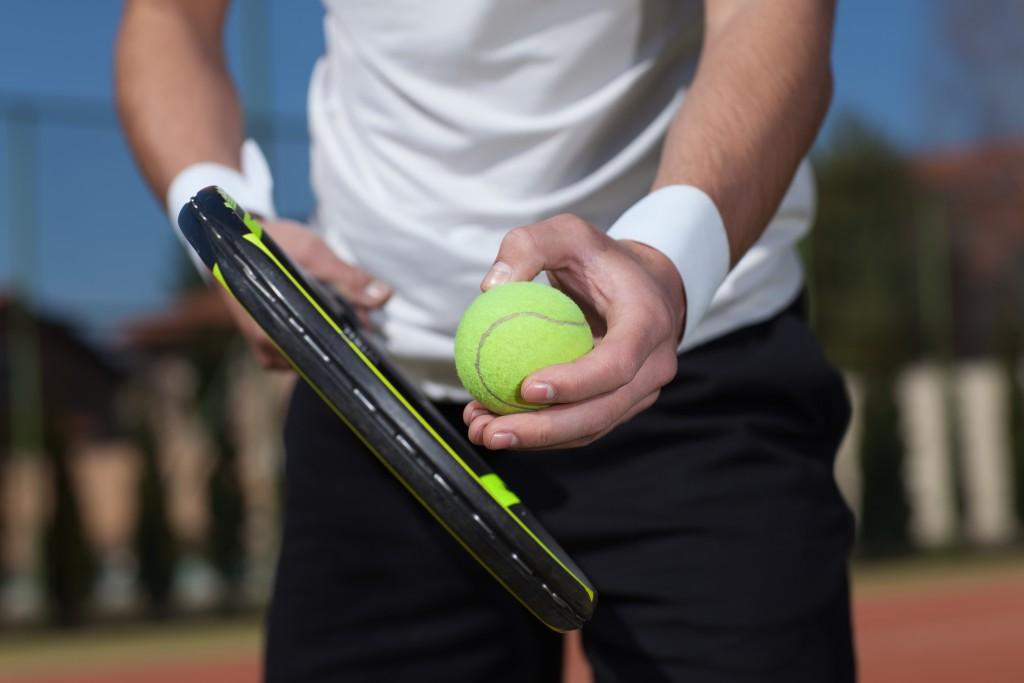 starting to play tennis