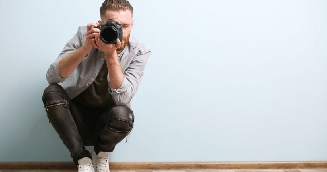 photographer taking shots