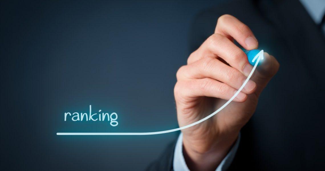 SEO ranking concept