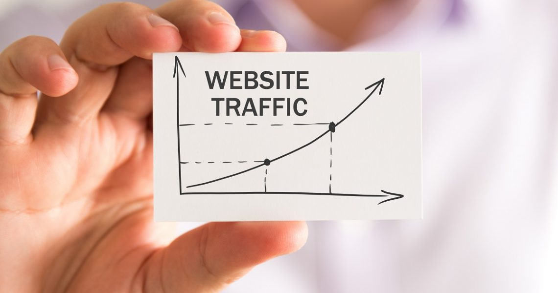 website traffic concept